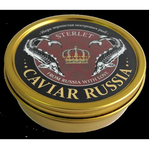 Икра стерляди CAVIAR RUSSIA STERLET, 250 г